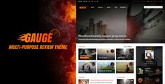 Free Download Gauge v6.13 Multi-Purpose Review Theme