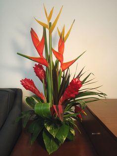 tropical floral arrangements images - Google Search