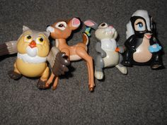 Ok so this Bambi is still kicking around somewhere in Hales' room McDonald Land Bambi pvc figures toys by AllNightGarageSale. , via Etsy. 90s Childhood, Childhood Memories, School Memories, 1980s Toys, 80s Girl Toys, Happy Meal Box, Mcdonalds Toys, 80s Kids, Kids Tv