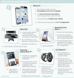 Las firmas tecnológicas Apple, Samsung y LG alistan estrenos en septiembre