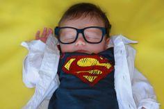 Too cute! #newborn #superhero #photography