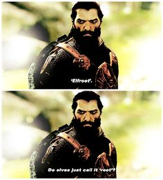 Dragon Age: Inquisition - Blackwall asking the hard questions.