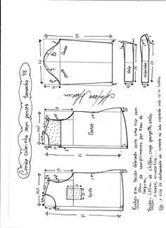 Patrón de camisa para mujer | Patrones gratis