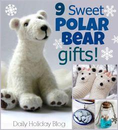 9 sweet polar bear gifts