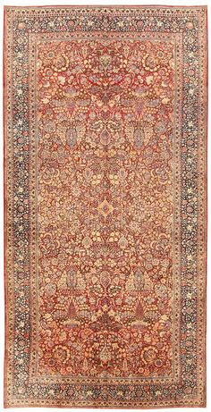 antique Kerman Persian