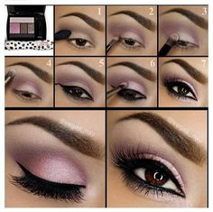 Purple Smoky Eye Makeup Tutorial