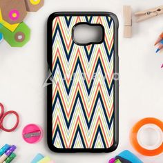 Colorful Chevron Pattern Samsung Galaxy S6 Edge Plus Case | armeyla.com