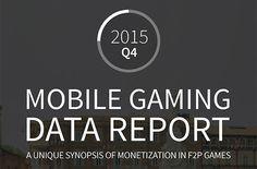 Mobil Oyun İstatistik Servisi Soomla, 2015 yılı 4. Çeyrek Bilgilerini Kapsayan Raporunu Yayınladı.
