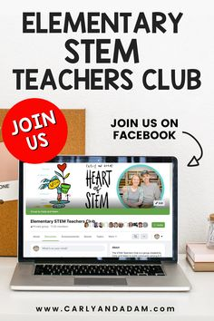 Are you new to teaching STEM? Need fresh ideas for your elementary STEM classroom? We have the perfect community for you! Join us in the Elementarty STEM Teachers Club. It's free to join! You'll find endless inspiration and helpful discussion to help you empower the next generation of scientists and engineers! Stem Teacher, Elementary Teacher, Stem Activities, Activities For Kids, Teaching Strategies, Teaching Ideas, Stem Challenges, Hands On Learning, Engineers