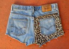 halfsie style shorts