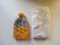 Baby Beanie Wool beanie Newborn hat 0-3 mo by pincelshop on Etsy
