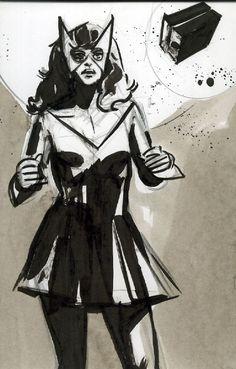 Marvel Girl by John Paul Leon