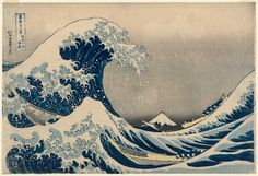 Image result for hokusai the great wave