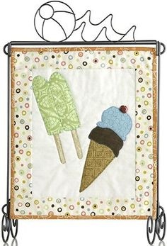 Patch Abilities Inc. Monthly Minis #4 available at www.patchabilities.com MM408 Cool Summer Treats