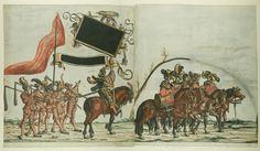 Albrecht Altdorfer (c. 1480 -1538), Hans Burgkmair (1473-1531), Albrecht Dürer (1471-1528) & others — Triumphal Procession, 1517 (1500x873)