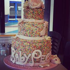 My amazing Baby Sprinkle Cake