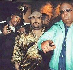 HIP HOP LEGENDS: PAC, PUN, Biggie