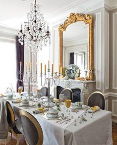 Chic Home Design and Decor: Christmas Decor - Chic Paris Apartment