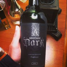 New Apothic Dark wine. Better than Apothic Red! Definitely on my to try list