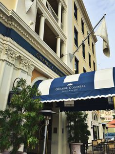 The Grande Colonial Hotel in La Jolla, California - just a minute's walk to the beach and seals and walking distance to tons of great restaurants and shops!