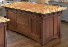 Kitchen Island - Craftsman Style America 19th Cen - KIT888