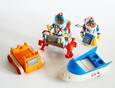 Billy Blastoff Space Scout Vehicles and Accesories, Eldon Toys, Made in Japan, Space Toys, Not Working by Retrorrific on Etsy