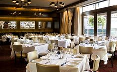 Chicago Restaurants With Private Dining Rooms Amusing Luxury Restaurant Mastro's Steakhouse In Chicago Chose Design Inspiration