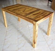 Teak Wood Inlay Kitchen Table - TIKT603030-TO . $686.81. Write A ReviewIn Stock