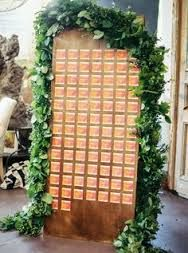 Image result for escort board with garland