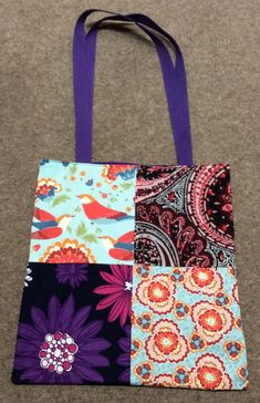Patchwork Tote for Liz (Side 2)