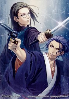 Hakuouki Shinsengumi Kitan (Demon Of The Fleeting Blossom) Image - Zerochan Anime Image Board Hot Anime Guys, I Love Anime, Manga Anime, Anime Art, Anime Kimono, Samurai, Joker Cosplay, Anime Cosplay, Cosplay Costumes