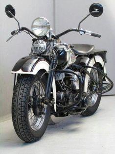 doyoulikevintage:Harley Davidson 1940 WLA 750 cc #harleydavidsonpolice #harleydavidsontrikepictures