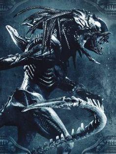 Aliens Vs Predator Poster Standup 4inx6in