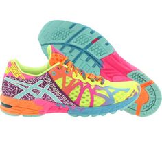 Asics Women Gel-Noosa Tri 9 (yellow / flash yellow / turquoise / berry) T458N-0440 - $139.99