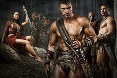 Spartacus!!! Just finished the second season!! Excited for the third!!