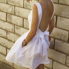 love the pockets. rehersal, bridal shower or bachelorette dress