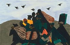 Jacob Lawrence The Migration of the Negro