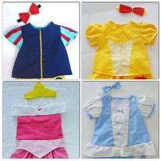 Camisa de Princesa Set 1 Blanca Nieves  Bella por LoopsyBaby