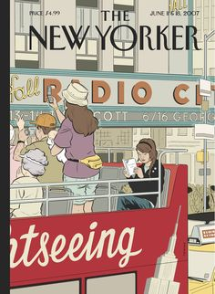 Tomine's cover to a June 2007 issue of <em>The New Yorker</em>.