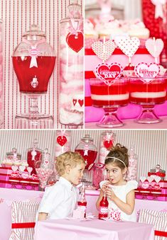 This blog is darling.  What a great Valentine party.
