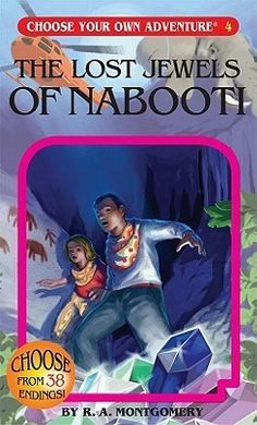 The Lost Jewels of Nabooti (choose your own adventure) • English Wooks