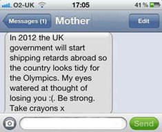 25 Hilarious Text Messages From Parents...I Would Die Laughing If My Parents Texted Me With This