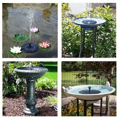 Lights & Lighting Reasonable Lumiparty Outdoor Flower-shape Solar Powered Floating Fountain For Pond Garden Decoration Led Underwater Lights