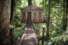 TreeHouse Point is a Wedding Venue in Issaquah, Washington, United States. See photos and contact TreeHouse Point for a tour. Treehouse Masters, Treehouse Hotel, Treehouse Vacations, Treehouse Wedding, Treehouse Living, Treehouse Ideas, The Places Youll Go, Places To Visit, Zelt Camping