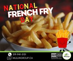 What do french fries do when they meet after a long time??? They KETCHUP! 🤣🥔 Happy International French Fry Day! Where's your favourite place to get fries? 🍟 #mullingroup #onthemove #realestate #orangeville #OrangevilleRealEstate