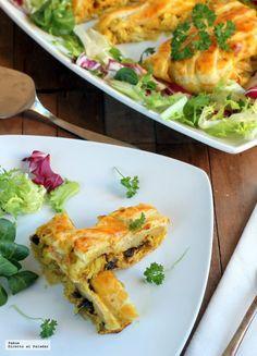 Trenza de pollo al curry. Receta para sorprender a tus invitados   Directo Al Paladar   Bloglovin'