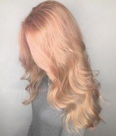 20 Rose Gold Haarfarbe Ideen + Tipps Wie Färben | Haarfarben ideen ... | Frauen Haare |
