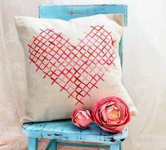 Especial San Valentin 20 DIY de CojinesEspecial San Valentin 20 DIY de Cojines