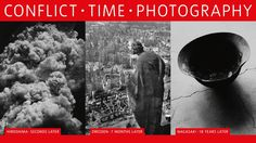 Conflict, Time, Photography exhibition web banner at the TATE