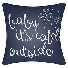 Winter Romance Throw Pillow - Surya